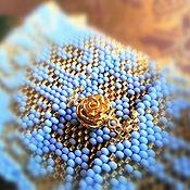 Украшения handmade. Livemaster - original item A bracelet made of beads: Blue sky of the East.. Handmade.