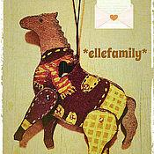 Куклы и игрушки ручной работы. Ярмарка Мастеров - ручная работа Лошадка деревянная. Handmade.