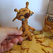 Куклы и игрушки ручной работы. Ярмарка Мастеров - ручная работа Мини жирафики. Handmade.
