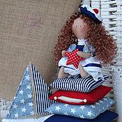 Куклы и игрушки ручной работы. Ярмарка Мастеров - ручная работа Текстильная куколка Мари. Handmade.