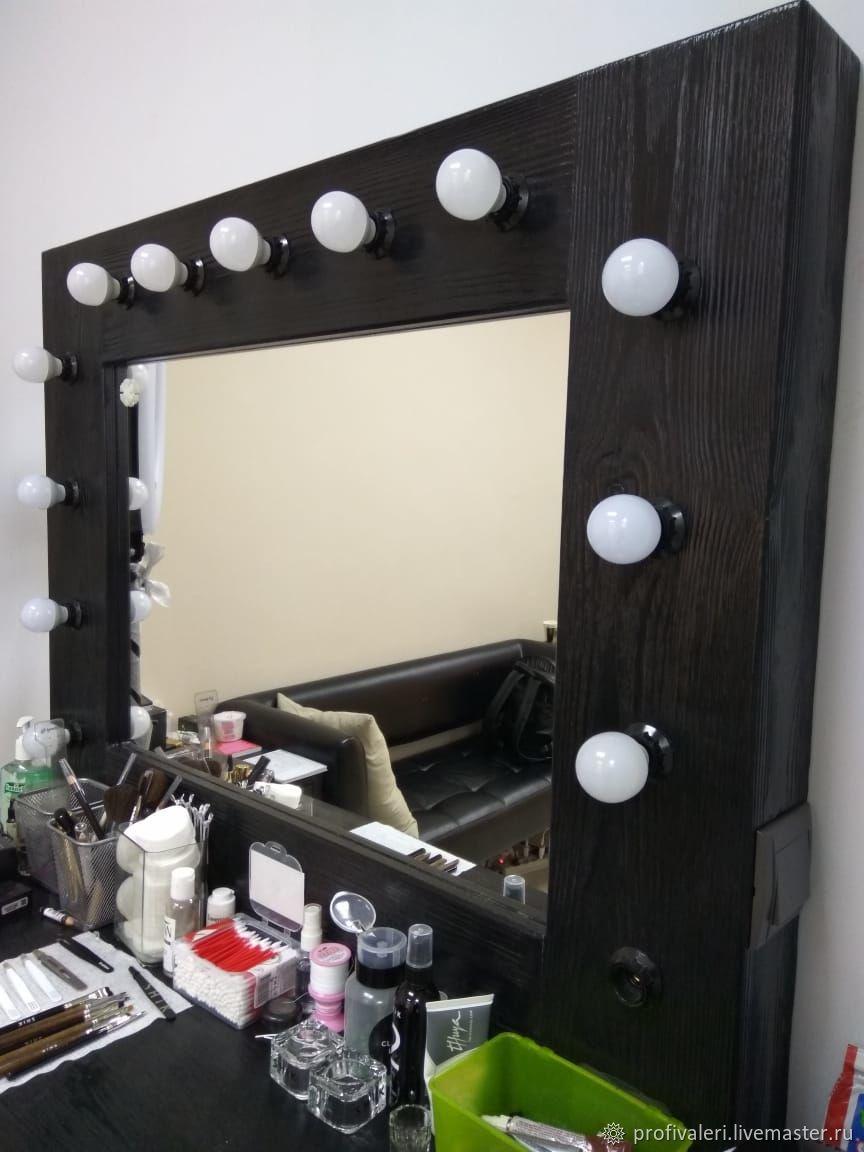 гримерное зеркало с консолью заказать на ярмарке мастеров I4sd5ru зеркала воскресенск