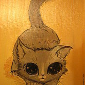 Картины и панно ручной работы. Ярмарка Мастеров - ручная работа Мямлик. Handmade.