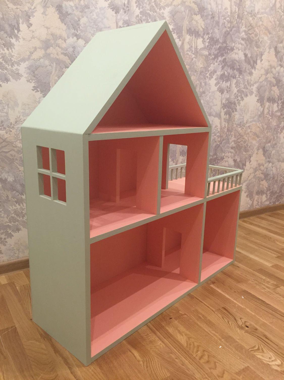 Кукольный домик с гараж своими руками.
