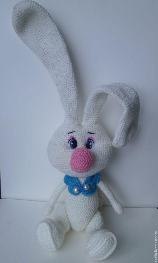 Кукольный дом ручной работы. Ярмарка Мастеров - ручная работа. Купить Игрушка Зайка длинные уши. Handmade. Комбинированный, вязание