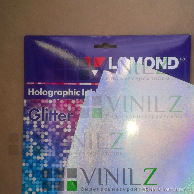 Эксклюзивная голографическая дизайнерская фотобумага Glitter (Блеск) для струйной печати   Lomond 0903041. Бумага с голографическим эффектом и невероятно ярким сиянием поверхности.