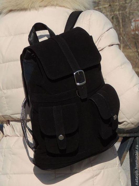 Эффектный, стильный рюкзачок для городских походов!