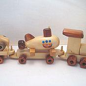 Техника, роботы, транспорт ручной работы. Ярмарка Мастеров - ручная работа Вагон с подводной лодочкой. Handmade.