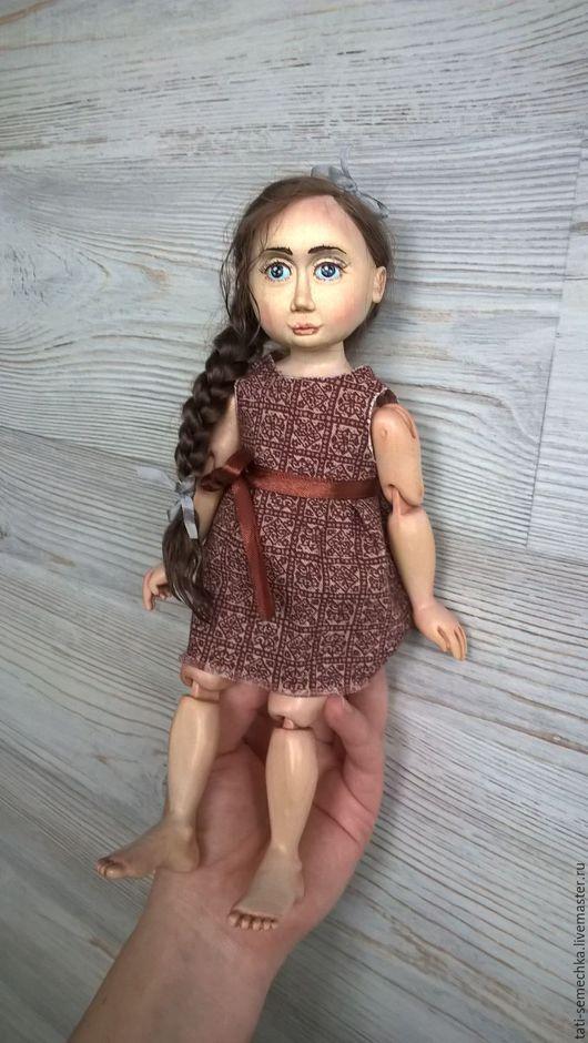 """Коллекционные куклы ручной работы. Ярмарка Мастеров - ручная работа. Купить деревянная кукла """"Лизавета"""". Handmade. Коричневый, дерево"""