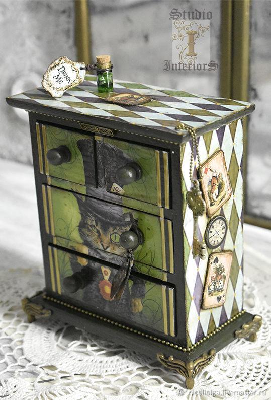 Mini-chest of drawers ' CHESHIRE ', Mini Dressers, Lipetsk,  Фото №1