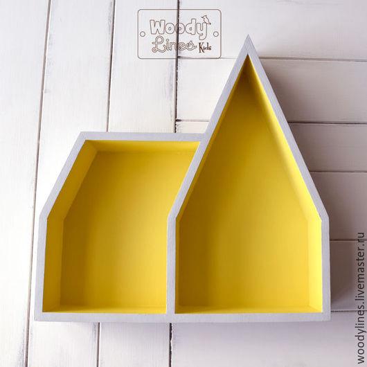 Мебель ручной работы. Ярмарка Мастеров - ручная работа. Купить Полка-домик Готик. Handmade. Комбинированный, домик полка