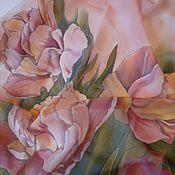 Аксессуары handmade. Livemaster - original item scarf Delicate tulips. Handmade.