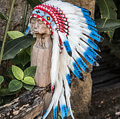 Одежда handmade. Livemaster - original item Indian roach Oneida /Cap Indian/ native American costume for the new year. Handmade.