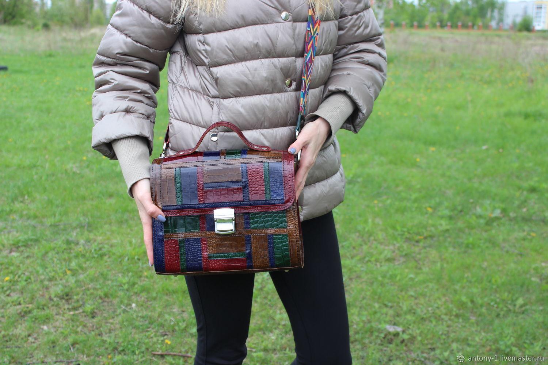 Shoulder bag: leather bag, Crossbody bag, Lipetsk,  Фото №1