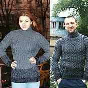 """Одежда ручной работы. Ярмарка Мастеров - ручная работа свитер """"Fishermen""""с градиентом. Handmade."""