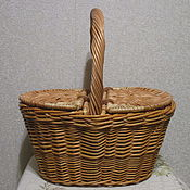Для дома и интерьера handmade. Livemaster - original item Children`s basket of vines