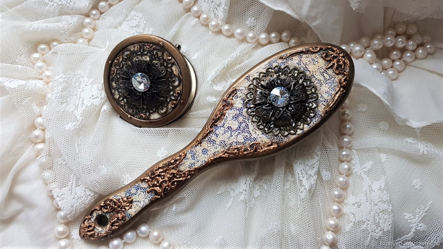 Accessories: Vintage set for an elegant lady, a gift for libima, Interior elements, Moscow,  Фото №1