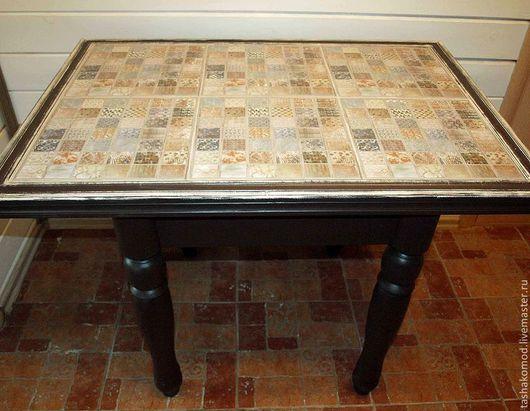"""Мебель ручной работы. Ярмарка Мастеров - ручная работа. Купить Стол обеденный """"Пэчворк"""". Handmade. Мебель для дома, обеденный стол"""
