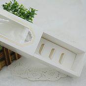 Материалы для творчества ручной работы. Ярмарка Мастеров - ручная работа Коробочка для макарун 15,5х6,5х5см. Handmade.