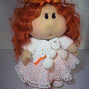 Куклы Тильда ручной работы. Ярмарка Мастеров - ручная работа Кукла интерьерная текстильная с лицом. Кукла щекастик Кукла хомячок. Handmade.