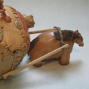"""Для дома и интерьера ручной работы. Ярмарка Мастеров - ручная работа """"Маленькая лошадка..."""" интерьерная скульптура. Handmade."""