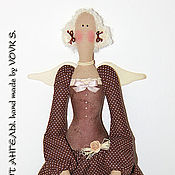 Куклы и игрушки ручной работы. Ярмарка Мастеров - ручная работа Кофейный ангел.. Handmade.