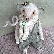 Куклы и игрушки ручной работы. Ярмарка Мастеров - ручная работа Тедди  Маленький Принц (14 см сидя) 23/02. Handmade.