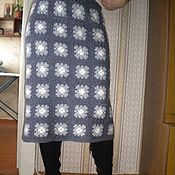 Одежда ручной работы. Ярмарка Мастеров - ручная работа Юбка вязанная крючком. Handmade.