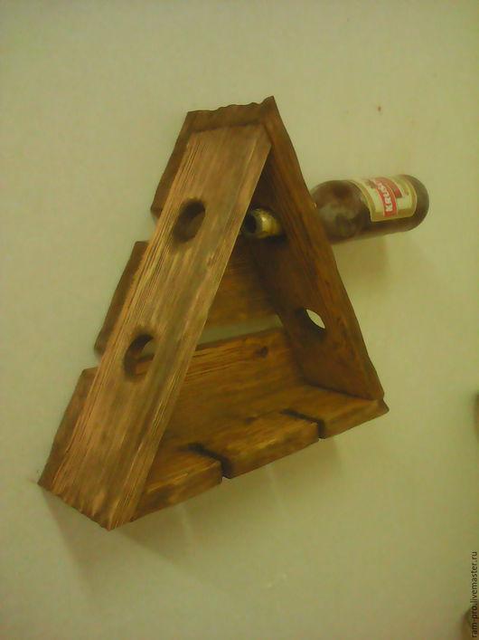 Кухня ручной работы. Ярмарка Мастеров - ручная работа. Купить подставка для вина и бокалов. Handmade. Коричневый, старение
