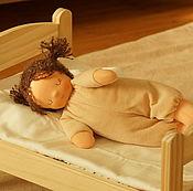 Вальдорфские куклы и звери ручной работы. Ярмарка Мастеров - ручная работа Сплюшка - Капучинка. Handmade.
