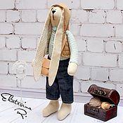 """Куклы и игрушки ручной работы. Ярмарка Мастеров - ручная работа Зайчик """"Мальчик"""" Тильда. Handmade."""