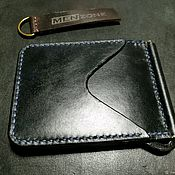 Сумки и аксессуары handmade. Livemaster - original item Money Clip Wallet Handmade leather wallet. Handmade.