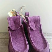 """Обувь ручной работы. Ярмарка Мастеров - ручная работа Валенки, модель """"Сирень"""". Handmade."""