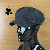Аксессуары handmade. Livemaster - original item Cap mens. Textile soft cap. Two colors.. Handmade.