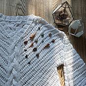 Одежда ручной работы. Ярмарка Мастеров - ручная работа Ажурный пуловер. Handmade.