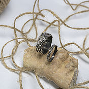 Украшения handmade. Livemaster - original item Personal. Wedding silver rings with garnet. Handmade.