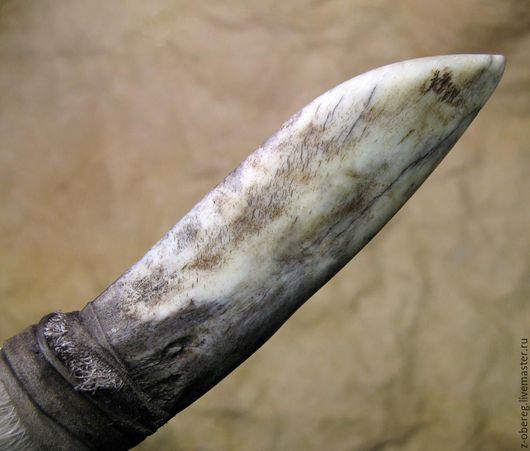 """Оружие ручной работы. Ярмарка Мастеров - ручная работа. Купить Костяной нож """"Волк"""" 2. Handmade. Бежевый, зуб, жрец"""