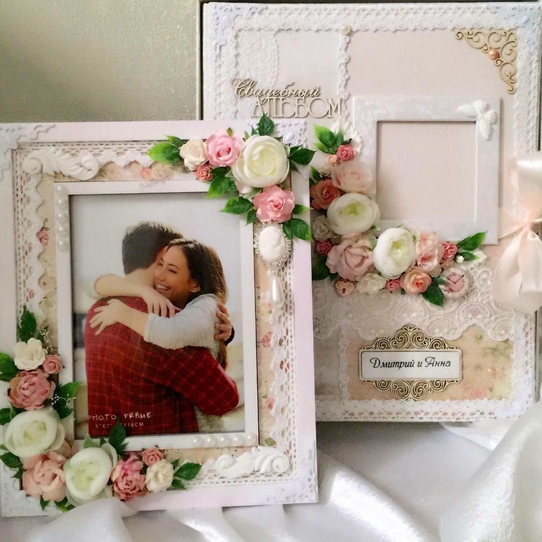Свадебный комплект ( рамка+фотоальбом!) Можно отдельно!, Свадебный салон, Красногорск, Фото №1