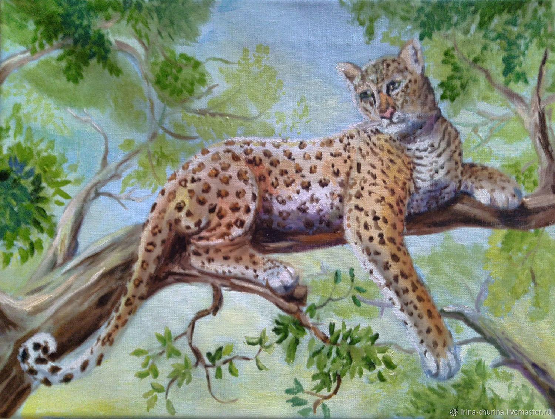 Нирвана. Леопард, Картины, Ростов-на-Дону,  Фото №1
