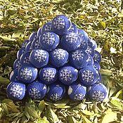 Подарки к праздникам ручной работы. Ярмарка Мастеров - ручная работа Вязаные новогодние шары с корпоративной символикой. Handmade.