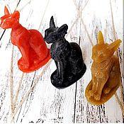Талисманы ручной работы. Ярмарка Мастеров - ручная работа Египетская кошка Баст со скарабеем. Handmade.