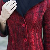 Одежда handmade. Livemaster - original item Coats Can be felt!. Handmade.