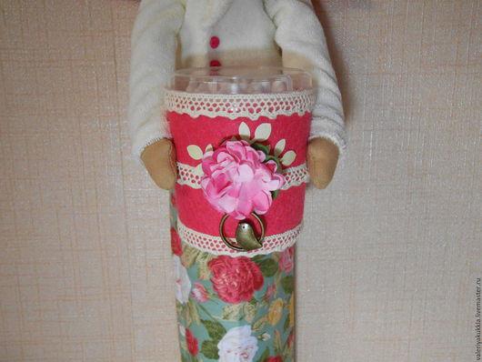 Куклы Тильды ручной работы. Ярмарка Мастеров - ручная работа. Купить Хранительница ватных дисков и палочек. Handmade. Комбинированный, кукла