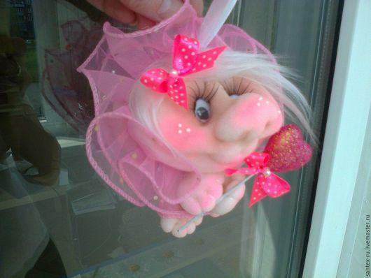 Приколы ручной работы. Ярмарка Мастеров - ручная работа. Купить кукла попик Фейка. Handmade. Прикольный подарок, райские птички