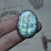 Материалы для творчества handmade. Livemaster - original item Labradorite. Cabochon 37 X 27 X 7. Handmade.