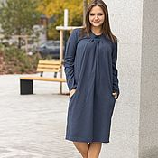 Одежда handmade. Livemaster - original item Office knitted dress