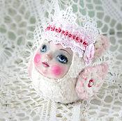 Подарки к праздникам handmade. Livemaster - original item Toy - suspension Ptichka nevelichka. Handmade.