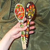 Русский стиль handmade. Livemaster - original item Wooden spoons Painting on wood. Handmade.