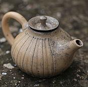 """Посуда ручной работы. Ярмарка Мастеров - ручная работа Чайник """"Восточный"""". Раку керамика. Handmade."""