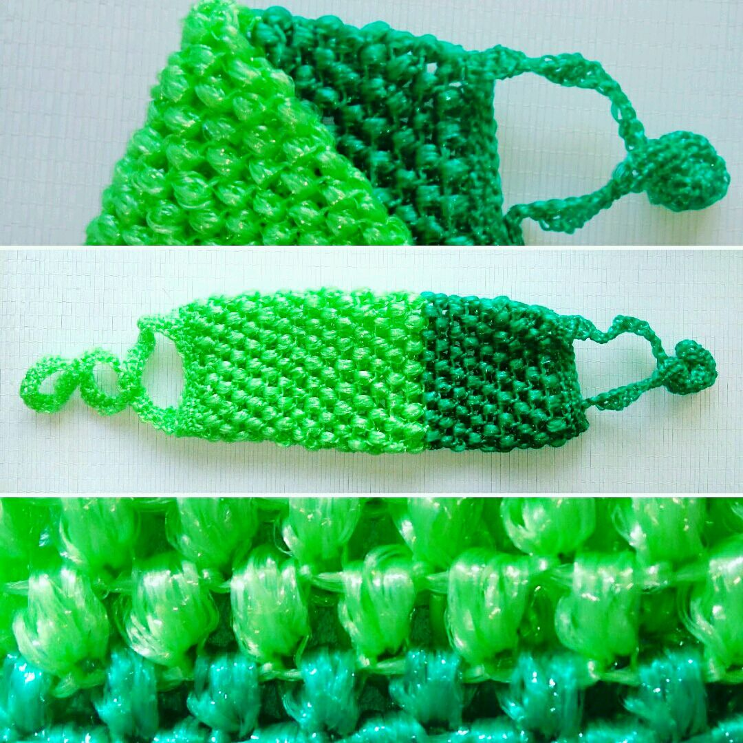 Плетение мочалок своими руками 28