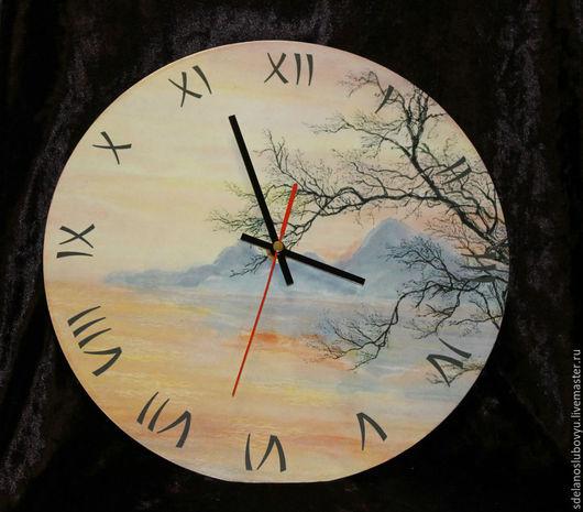 """Часы для дома ручной работы. Ярмарка Мастеров - ручная работа. Купить Часы """"Японские мотивы"""". Handmade. Часы настенные"""